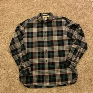 Men's H and M flannel button down